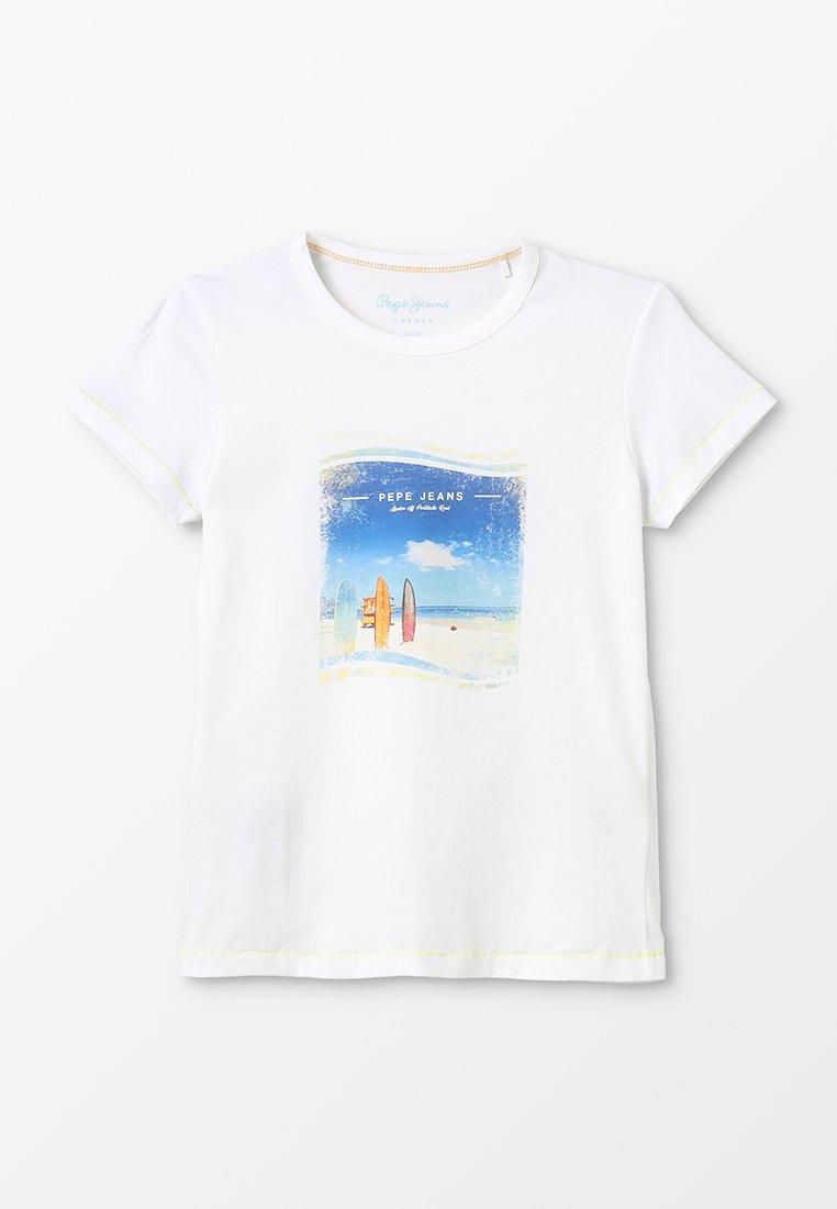 Pepe Jeans - LOIUE - Print T-shirt - optic white