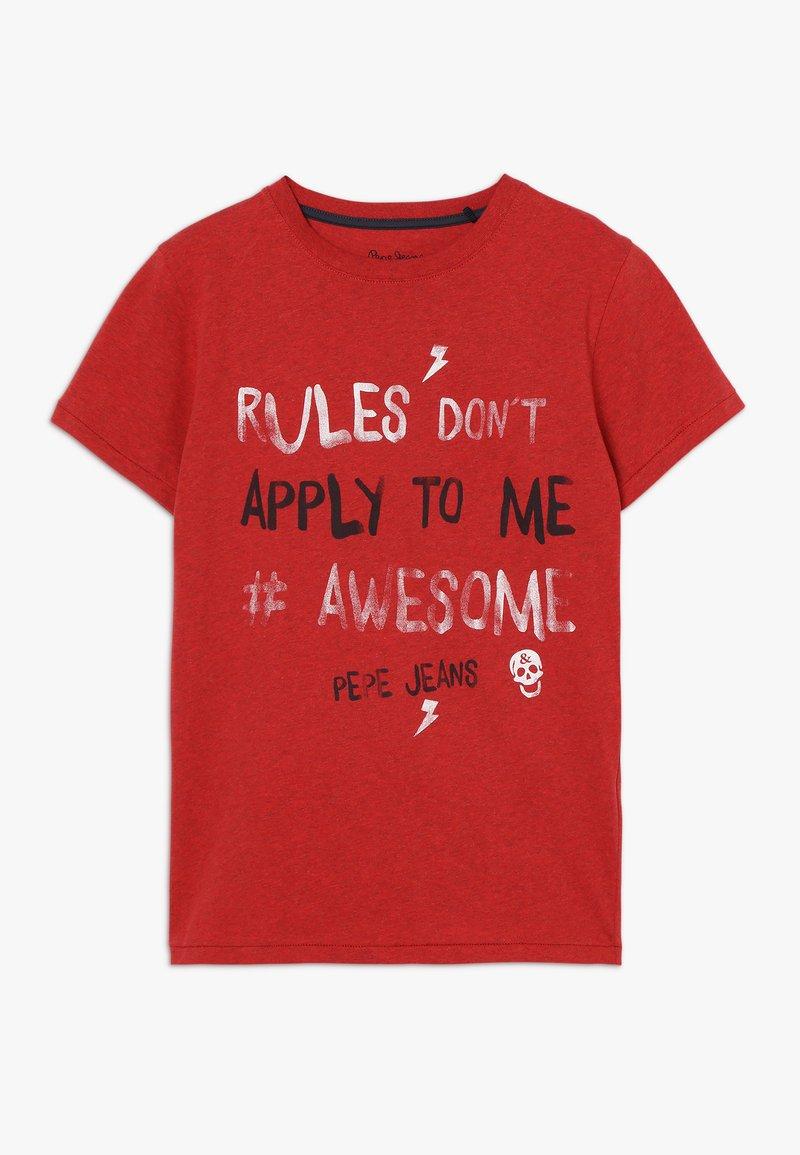Pepe Jeans - TRICO - T-shirt print - flame