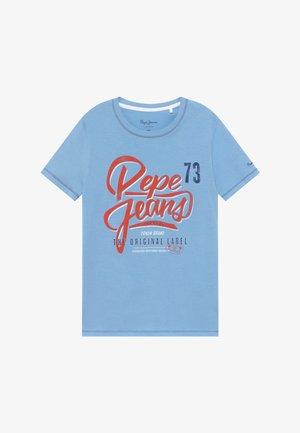 ABADIE - T-shirt con stampa - horizon blue