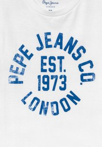 Pepe Jeans - ANTHONY - Camiseta estampada - optic white - 3