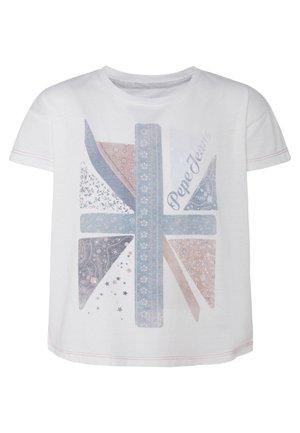 CASSIOPEA - Print T-shirt - mousse