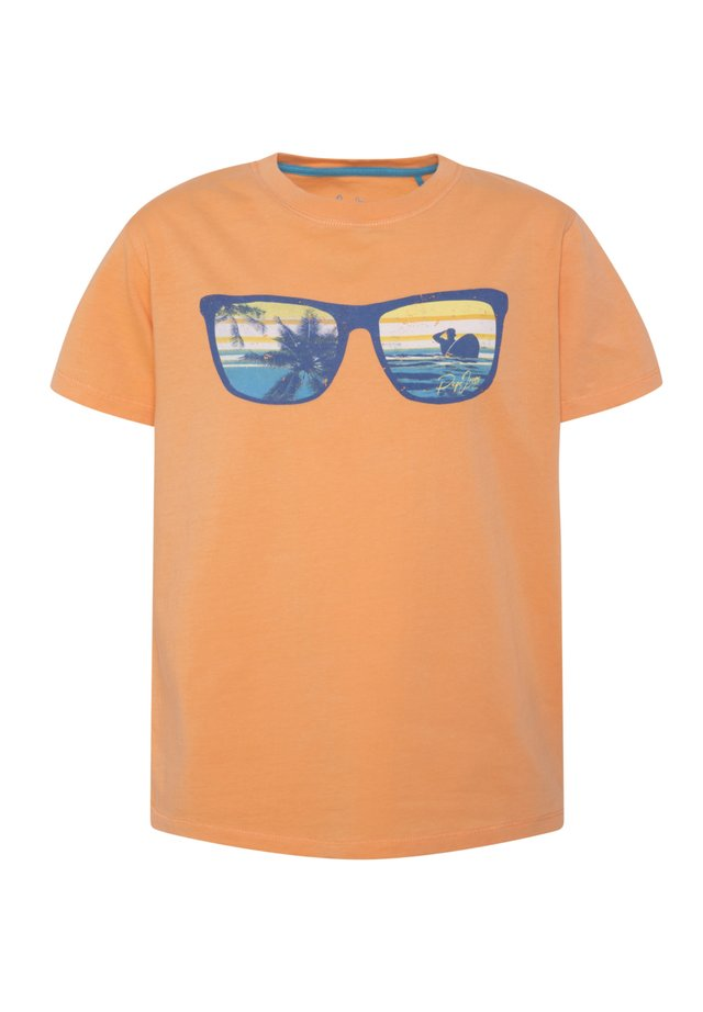 AITOR - Print T-shirt - acid orange