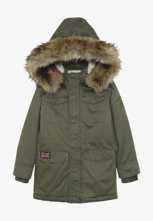 ELCANO - Zimní kabát - green