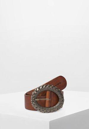 ANYA - Belt - brown tan