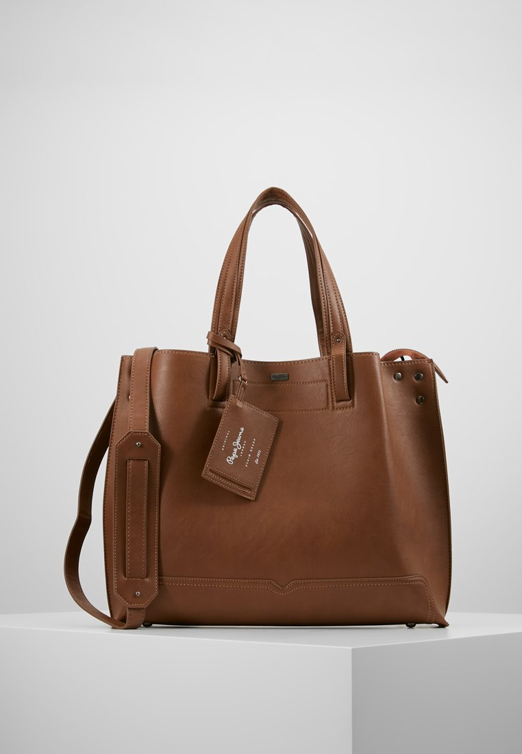 Pepe Jeans - BETTY BAG - Shoppingväska - 878brown/silver