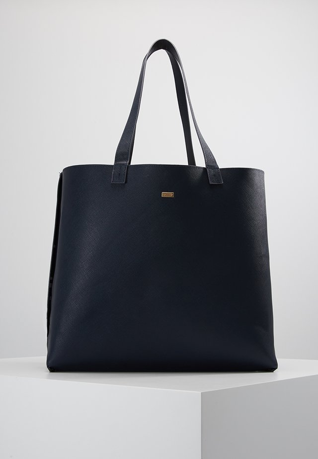 EILEEN - Shopping bag - black/red