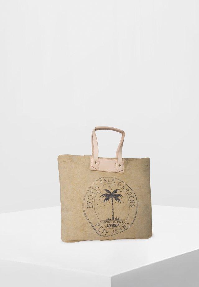 NURIA BAG - Shopping Bag - natural