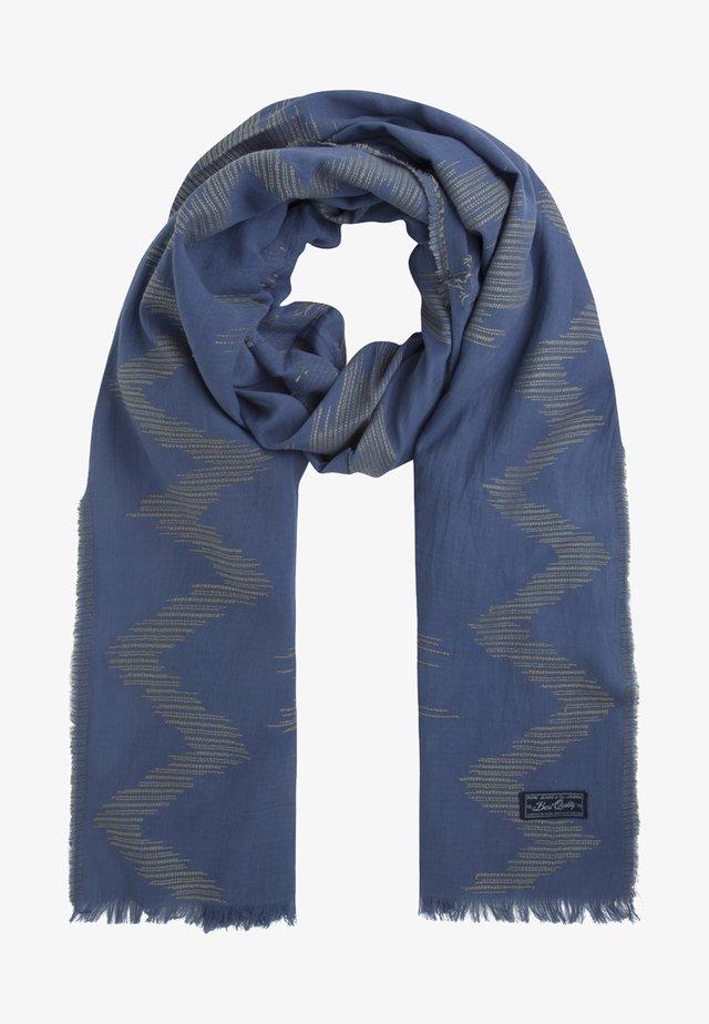 LAMU - Sjaal - steel blue