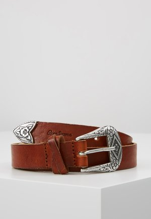 BUCKLE BELT - Belt - natural