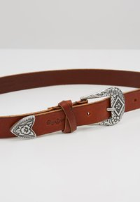 Pepe Jeans - BUCKLE BELT - Pásek - natural