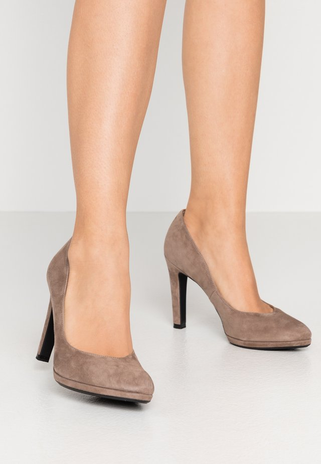 HERDI - High Heel Pumps - sand