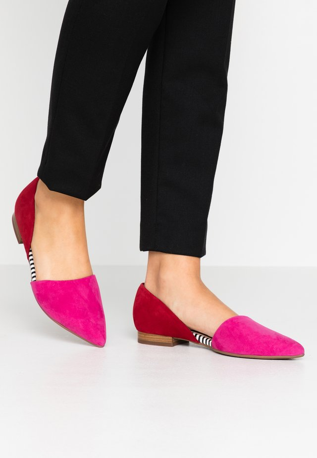 TIPPI - Ballet pumps - berry lipstick