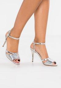 Peter Kaiser - TERRI - High heeled sandals - silber hurdle chio - 0