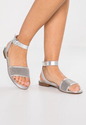 RUBINA - Sandaler - silber