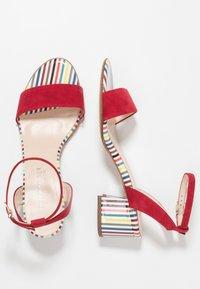 Peter Kaiser - CIRA - Sandals - lipstick - 3