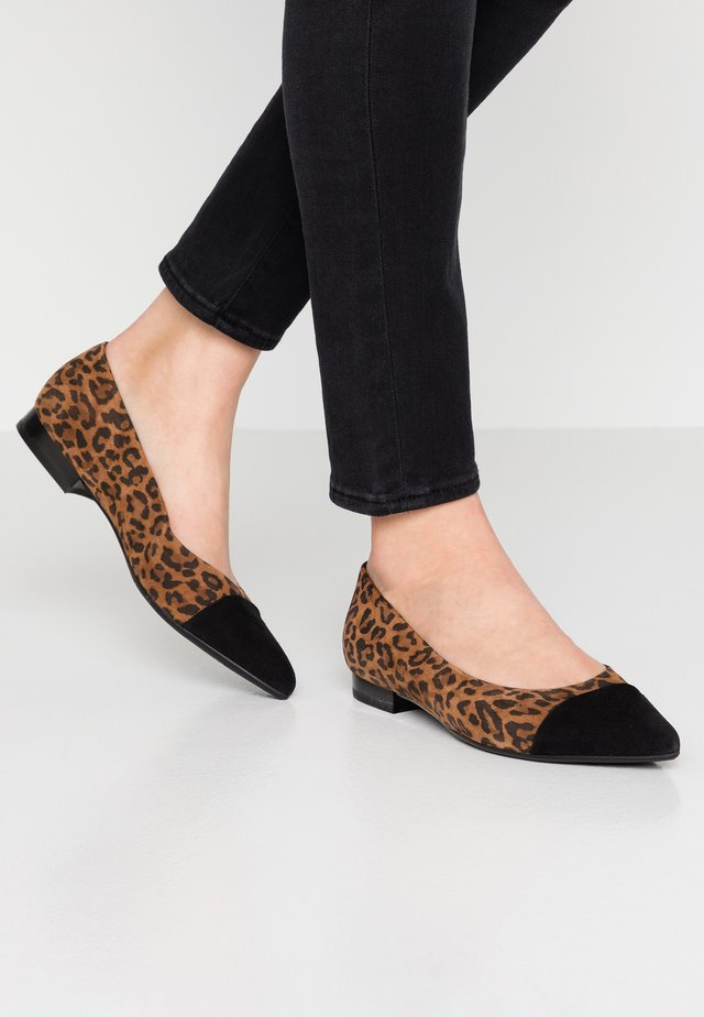 CARA - Ballet pumps - schwarz/sable