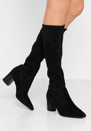 MARCELLA - Vysoká obuv - schwarz
