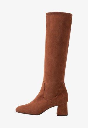 BRIT - Vysoká obuv - sable