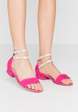 PAMILA - Sandals - berry