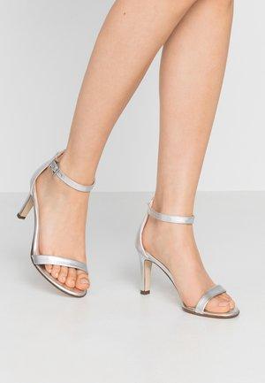 ORLENA - High heeled sandals - silber corfu