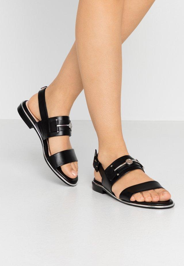 RUNA - Sandaler - schwarz samoa