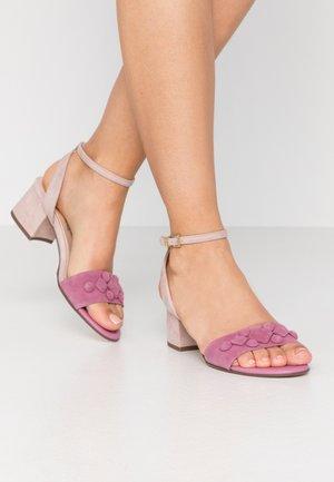 CARYL - Sandals - cassis/mauve