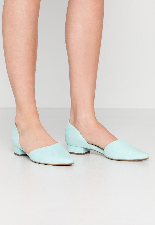 Ballet pumps - mint