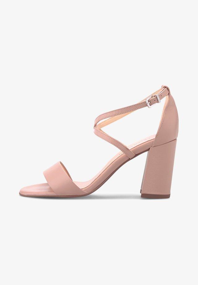 ALECIA - High heeled sandals - rosa