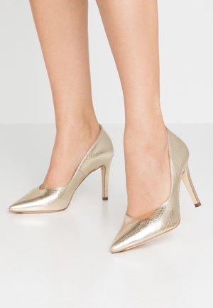 DANELLA - Zapatos altos - platin corona