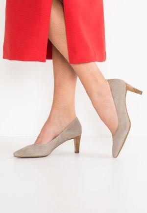 MANI - Classic heels - taupe