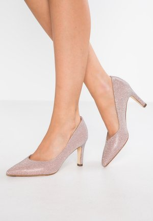 EBBY - Klassiske pumps - powder shimmer