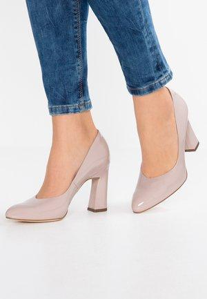 KAROLIN - High heels - mauve