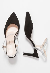 Peter Kaiser - EYRINA - High Heel Pumps - black/silver corfu - 3