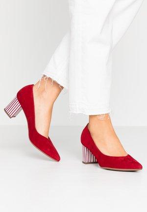 NAJA - Classic heels - lipstick