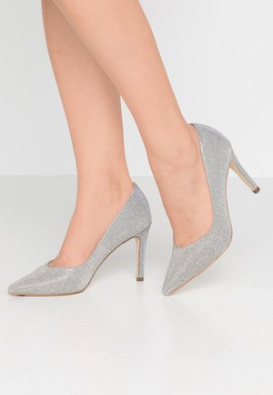 DENICE - High heels - silber shimmer