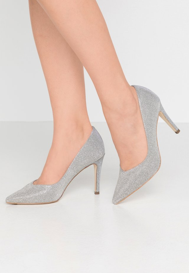 DENICE - High Heel Pumps - silber shimmer