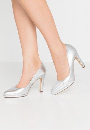 HERDI - High heels - silber