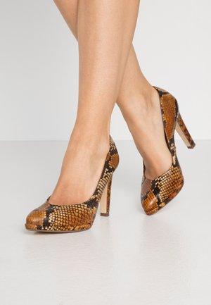 HERDI - High heels - bicotti iguana