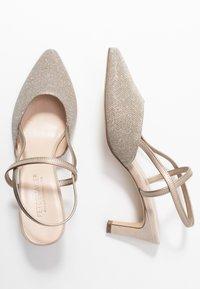 Peter Kaiser - MITTY - Classic heels - sand shimmer - 3