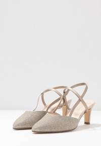 Peter Kaiser - MITTY - Classic heels - sand shimmer - 4