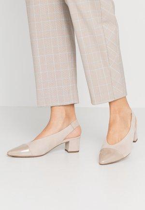 BOZEA - Classic heels - sand mura