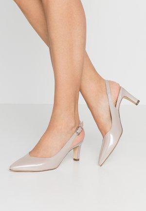 MEDANA - Classic heels - mauve mura