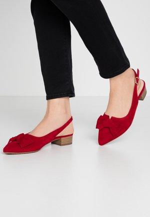 ADALIA - Classic heels - lipstick