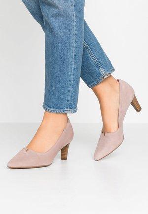 MADELEINE - Classic heels - mauve