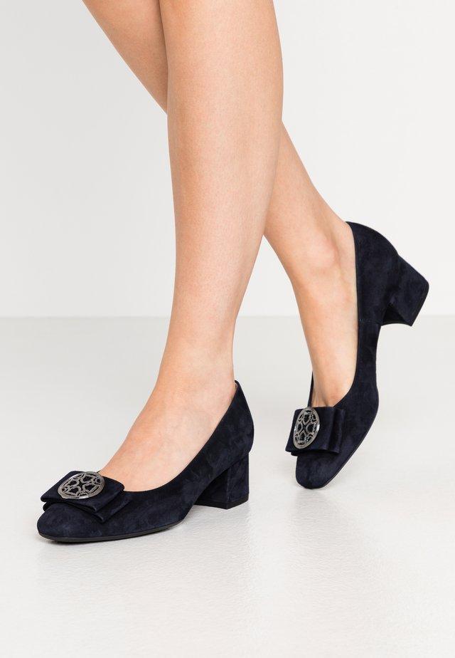 PATTY - Classic heels - navy