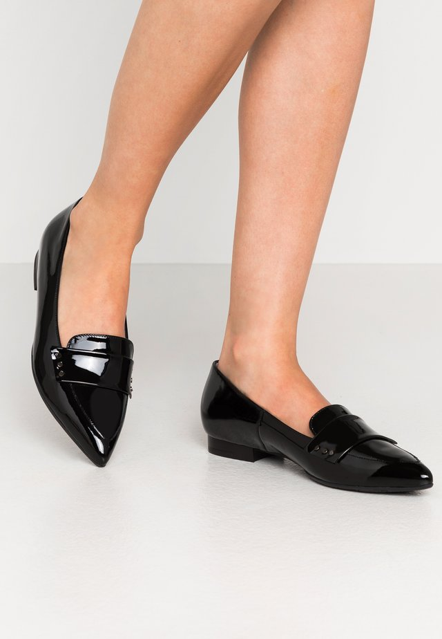 TABEA - Slipper - schwarz