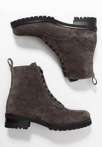 Peter Kaiser - LESATA - Lace-up ankle boots - carbon siga - 3