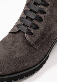Peter Kaiser - LESATA - Lace-up ankle boots - carbon siga - 2