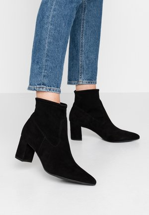 BASSY - Ankle boots - schwarz