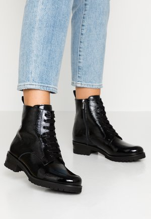 LUISA - Lace-up ankle boots - schwarz